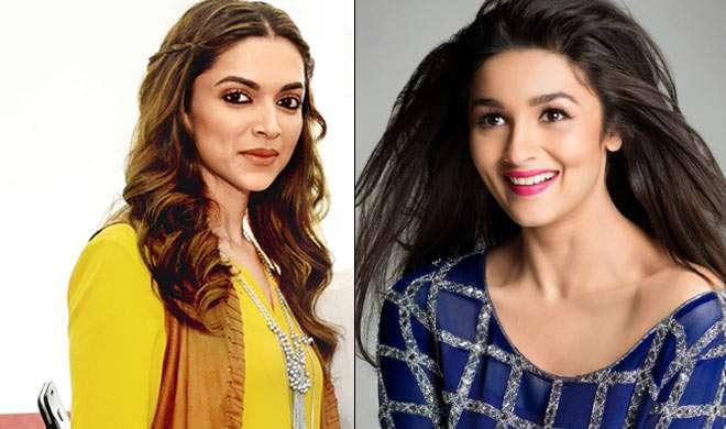 दीपिका के लिए 'पद्मावती' के सेट पर पहुंचीं आलिया - India TV