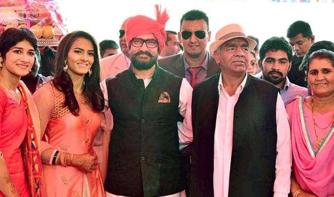 गीता फोगट की शादी को लेकर उत्साहित आमिर ने मेहमानों को दिए खास तोहफें - India TV