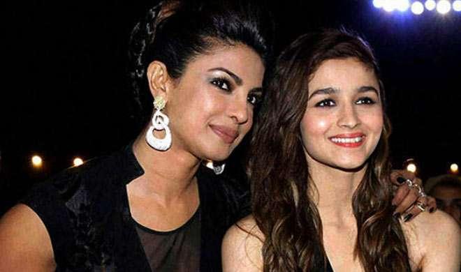 आलिया भट्ट मानती हैं प्रियंका चोपड़ा को अपनी प्रेरणा का स्रोत - India TV