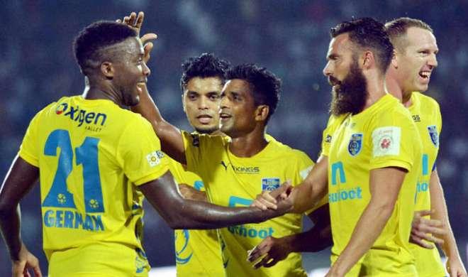 ISL: शीर्ष पर जाने के लिए मुम्बई को हराना चाहेगा केरल - India TV