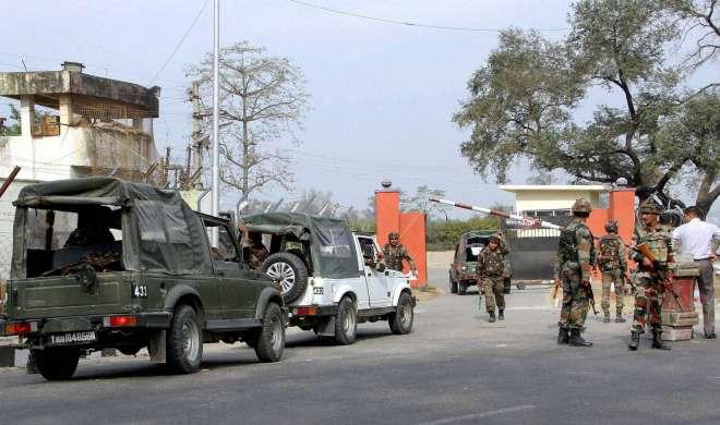 नगरोटा में तलाशी अभियान फिर शुरू, सैनिकों की पत्नियों की सूझबूझ से टली बड़ी आफत - India TV