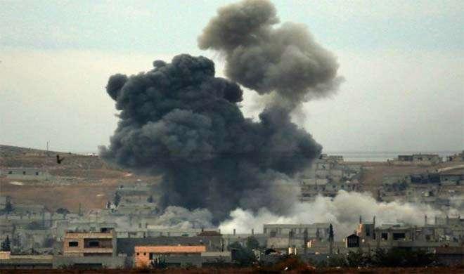 इजरायली विमानों ने सीरिया में IS के ठिकाने पर बमबारी की, 4 आतंकी ढेर