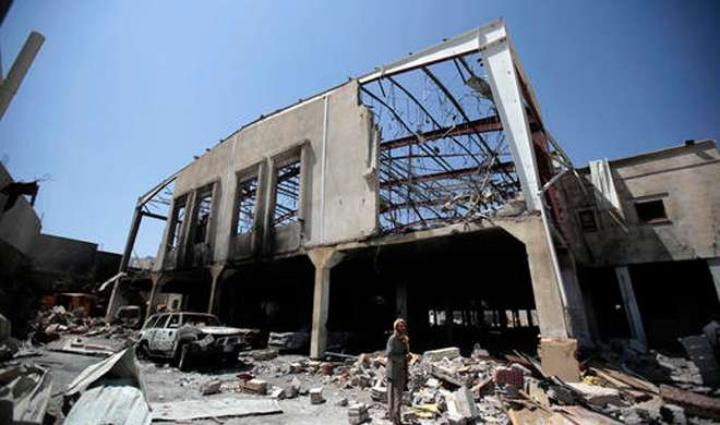 सऊदी अरब का यमन पर हवाई हमला, 12 नागरिक मारे गए - India TV