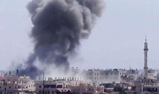 अलेप्पो: तुर्की के हवाई हमले में 11 IS आतंकी मारे गए - India TV