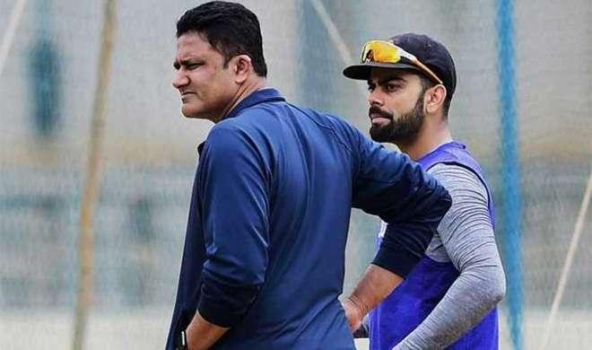 कोहली पर गेंद से छेड़छाड़ का आरोप, कुंबले ने कहा 'नामुमकिन'