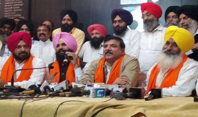 सिद्धू को झटका, बैंस बंधुओं ने पंजाब चुनाव के लिए थामा AAP का दामन - India TV