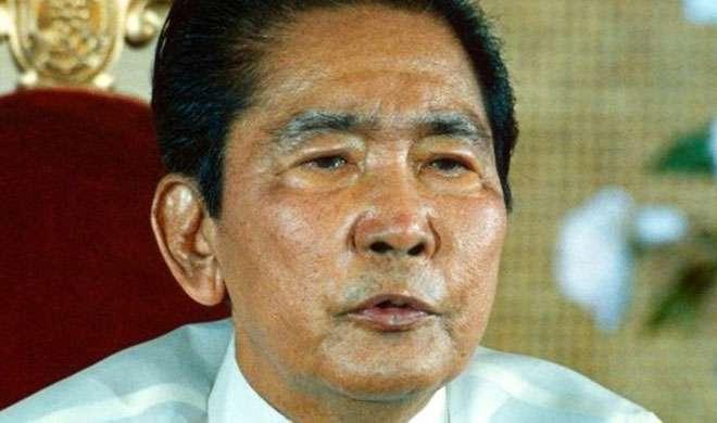 फिलीपींस: 27 साल बाद हीरोज कब्रिस्तान में दफनाए गए पूर्व तानाशाह मार्कोस - India TV