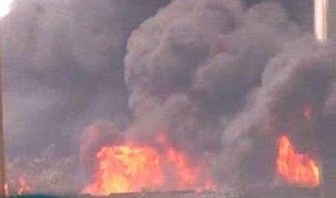 पानीपत: धागा फैक्ट्री में आग लगने से 6 लोगों की मौत, कई फंसे - India TV