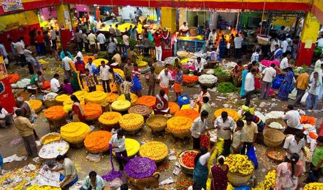 नोटबंदी के चलते एशिया का सबसे बड़े फूलों के बाजार पर जोरदार असर
