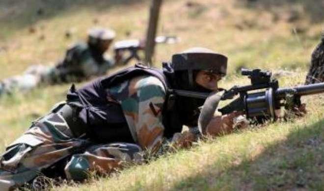 पाकिस्तान ने जम्मू में भारतीय चौकियों पर की गोलाबारी - India TV
