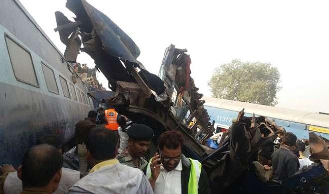 कानपुर रेल दुर्घटना: मृतकों की संख्या 149 हुई - India TV
