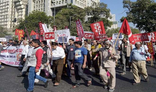 वाम दल ने स्वीकारा, नोटबंदी के खिलाफ 'भारत बंद' का फैसला गलत - India TV