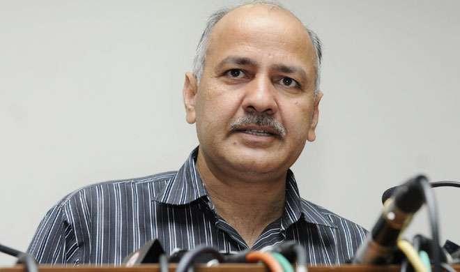नोटबंदी के खिलाफ AAP का प्रदर्शन, डिप्टी CM मनीष सिसोदिया हिरासत में लिए गए, रिहा - India TV