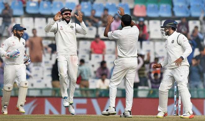मोहाली टेस्ट: भारत ने इंग्लैंड को 8 विकेट से दी मात, सीरीज में 2-0 से आगे