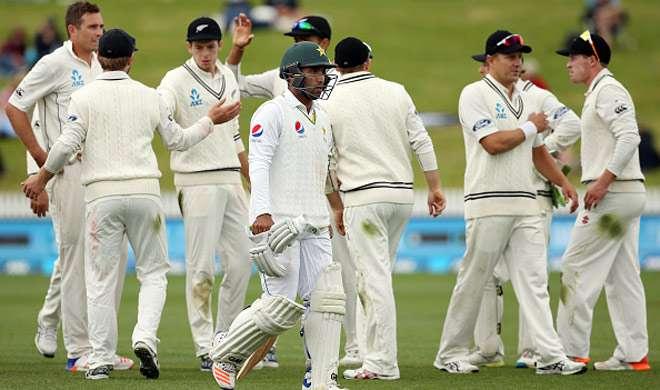 हैमिल्टन टेस्ट में न्यूजीलैंड ने पाकिस्तान को 138 रन से मात दी - India TV