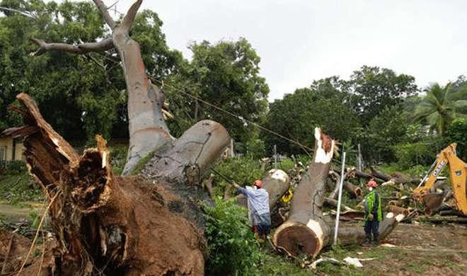 कोस्टा रिका और निकारागुआ को ओटो तूफान से जबर्दस्त खतरा