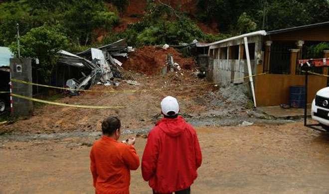 कोस्टा रिका में तूफान 'ओटो' से 9 लोगों की मौत, 6 लापता - India TV