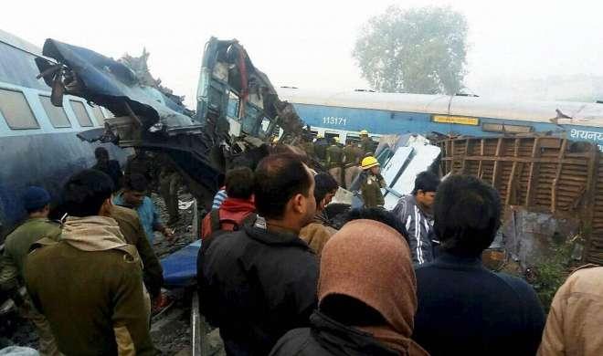 कानपुर रेल हादसा: 200 यात्रियों के चिंतित परिजन पहुंचे रेलवे स्टेशन
