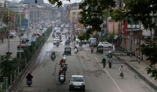 श्रीनगर में पटरी पर लौटता जनजीवन, मौजूदा स्थिति में आया काफी सुधार - India TV