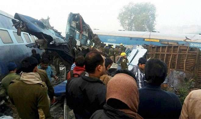 कानपुर ट्रेन हादसा: दुर्घटनाग्रस्त बोगी में से जीवित निकले 2 बच्चे - India TV