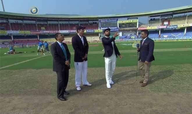 विशाखापट्टनम: भारत ने टॉस जीता, पहले बल्लेबाज़ी का फ़ैसला