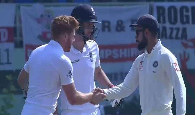 विशाखापत्तनम टेस्ट: भारत ने इंग्लैंड को दी 246 रन से शिकस्त - India TV