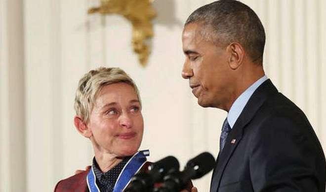 ओबामा ने 21 लोगों को किया सर्वोच्च नागरिक सम्मान से सम्मानित - India TV