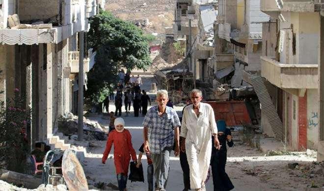 सीरिया: विद्रोहियों ने कई परिवारों को अलेप्पो छोड़कर जाने से रोका