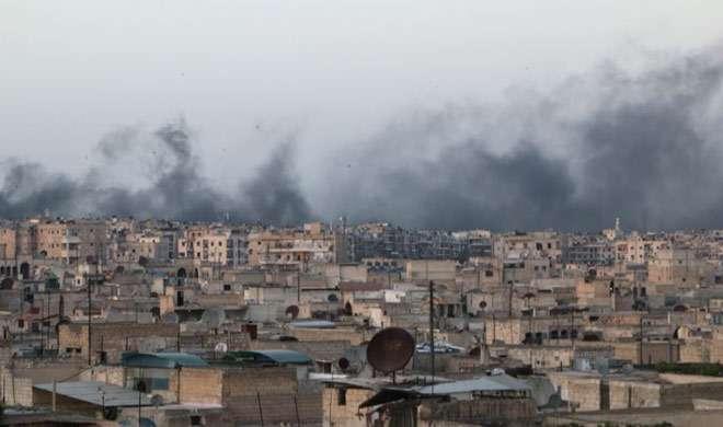 सीरिया और रूस ने अलेप्पों इलाके में विद्रोहियों पर किए नए हमले - India TV