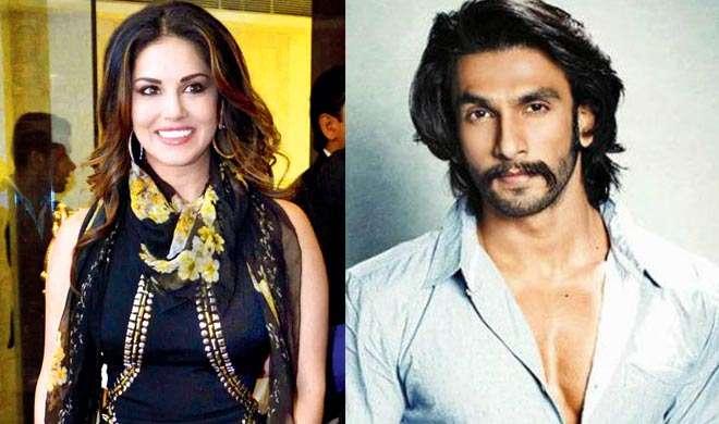 ...जब सनी लियोन ने रणवीर सिंह को कहा Crazy - India TV