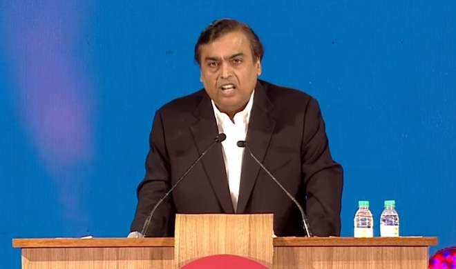 जिओ ऑफर्स के ऐलान के दौरान मुकेश अंबानी ने दी नोटबंदी के लिए पीएम मोदी को बधाई - India TV