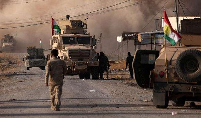 इराकी सेना ने मोसुल के कुछ हिस्सों से IS को खदेड़ा - India TV
