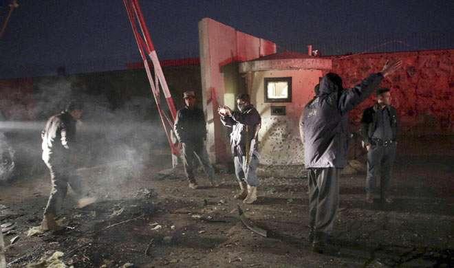 अफगानिस्तान के संसद सहित 3 शहरों में हमला, 50 की मौत - India TV