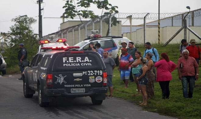ब्राज़ील की जेल में गैंग वार, 60 क़ैदी हलाक़
