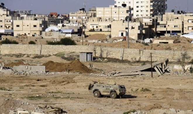 विस्फोटकों से लदे ट्रक से मिस्र की सुरक्षा चौकी पर हमला, 9 की मौत - India TV