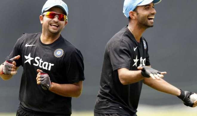 रहाणे और रैना टीम में पर नजरें पंत पर - India TV