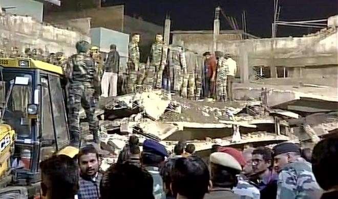 कानपुर: जाजमऊ में निर्माणाधीन इमारत ढही, 7 लोगों की मौत