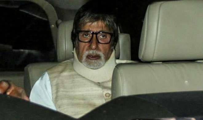 अमिताभ बच्चन को परेशान कर रहा है गर्दन का दर्द - India TV