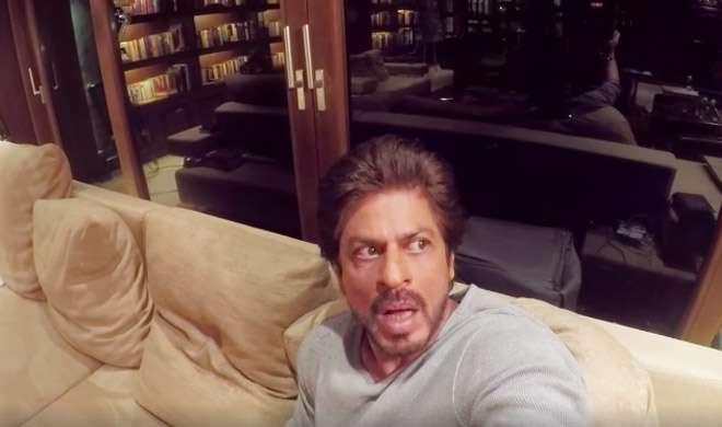 VIDEO: जब अपने घर में 'भूत' की आवाज सुनकर डर गए शाहरुख खान - India TV