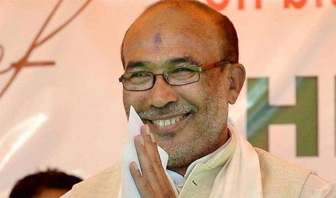 मणिपुर: फ्लोर टेस्ट में बिरेन सिंह पास, राज्य में पहली बार BJP सरकार