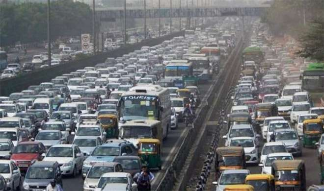 जाट आंदोलन: नोएडा से दिल्ली जाने वाले रास्तों पर भारी जाम - India TV