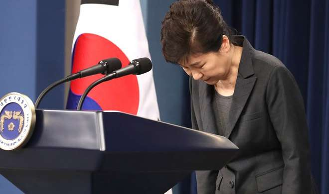 द. कोरिया की राष्ट्रपति पार्क ग्युन-हे ने मांगी जनता से माफी