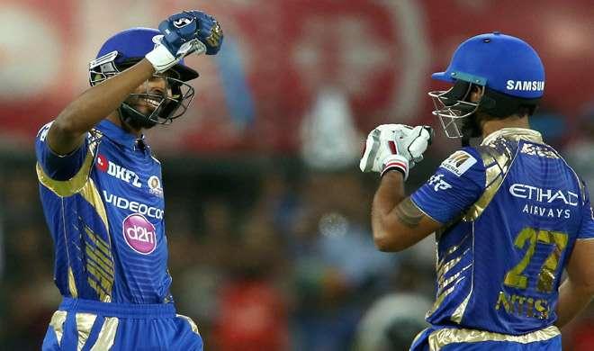 IPL-10: अमला का शतक बेकार, मुंबई ने पंजाब को 8 विकेट से हराया
