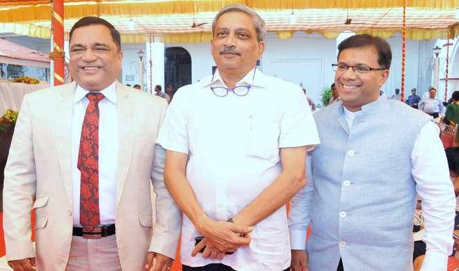 कांग्रेस के पूर्व मंत्रियों विश्वजीत राणे, गोडिन्हो को पर्रिकर के मंत्रिमंडल में मिली जगह