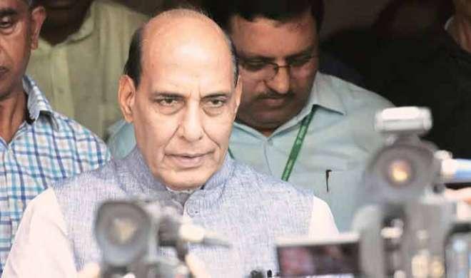 राजनाथ ने सभी राज्यों से कश्मीरियों की सुरक्षा सुनिश्चित करने को कहा - India TV