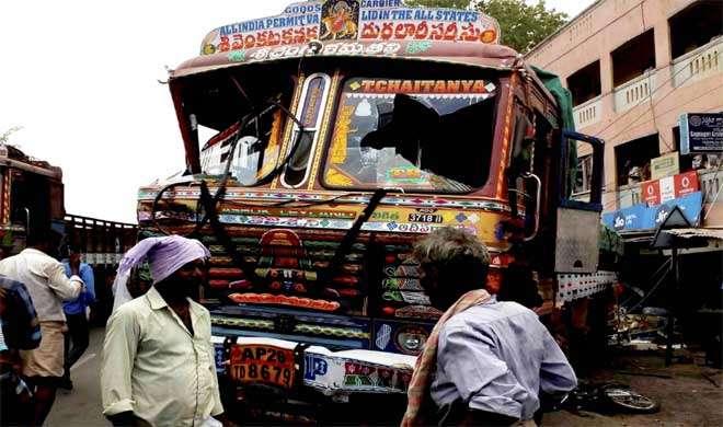 आंध्र : बेकाबू ट्रक की चपेट में आने से 14 की मौत, 24 घायल