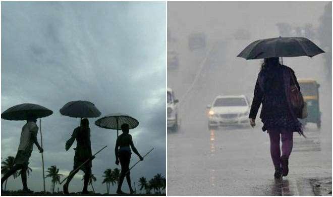 यूपी में अगले 24 घंटे में बारिश के आसार,बिहार में छाई बदली