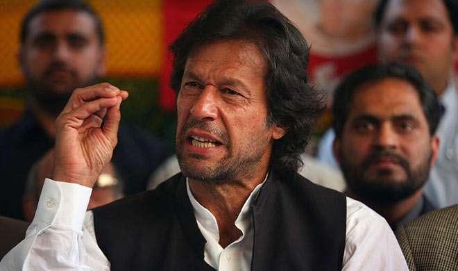 इमरान खान ने की शरीफ के इस्तीफे की मांग - India TV