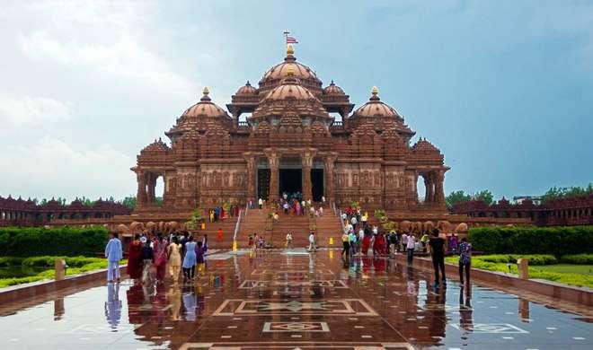 PHOTO: अक्षरधाम मंदिर की कहानी, तस्वीरों की जुबानी - India TV