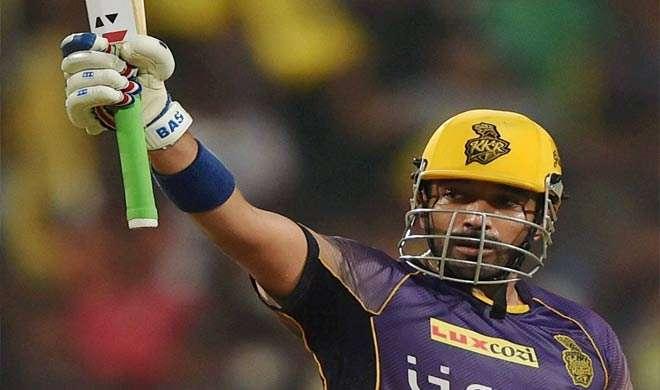 IPL 2017: कोलकाता ने गुजरात को दिया 188 रनों का लक्ष्य